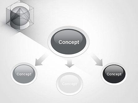 Geometrical PowerPoint Template, Slide 4, 12033, Education & Training — PoweredTemplate.com