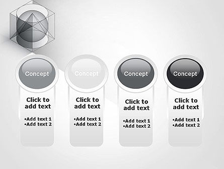 Geometrical PowerPoint Template Slide 5