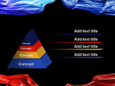 Blue and Red Abstract Streams PowerPoint Template#12