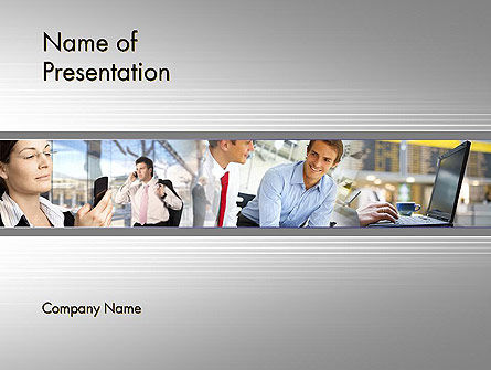 Careers/Industry: Official Journeys PowerPoint Template #12037