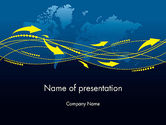 Technology and Science: gpsトラッキングシステム - PowerPointテンプレート #12041