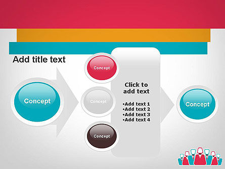 Co Workers Illustration PowerPoint Template Slide 17