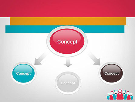 Co Workers Illustration PowerPoint Template Slide 4