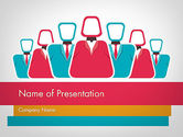 Business: Co Workers Illustration PowerPoint Template #12044