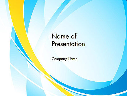 Abstract Intersections PowerPoint Template