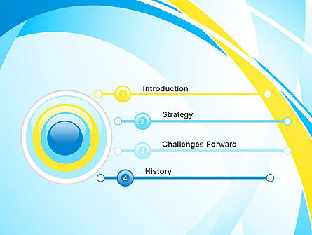 Abstract Intersections PowerPoint Template Slide 3