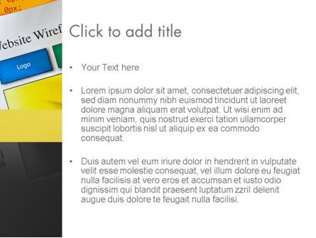 Website Design PowerPoint Template, Slide 3, 12047, Careers/Industry — PoweredTemplate.com