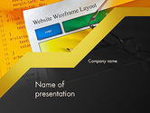 Careers/Industry: Website design PowerPoint Vorlage #12047