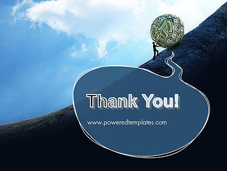 Financial Sisyphus PowerPoint Template Slide 20