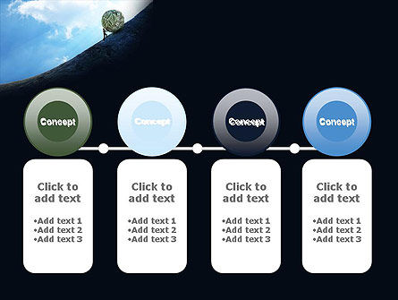 Financial Sisyphus PowerPoint Template Slide 5