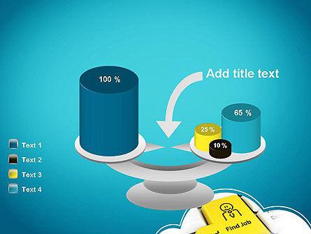 Find Job Button PowerPoint Template Slide 10