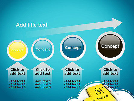 Find Job Button PowerPoint Template Slide 13