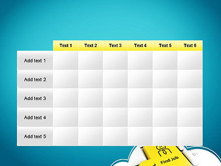 Find Job Button PowerPoint Template Slide 15