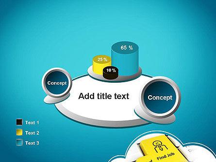 Find Job Button PowerPoint Template Slide 16