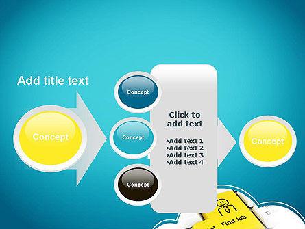 Find Job Button PowerPoint Template Slide 17