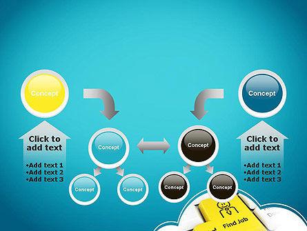 Find Job Button PowerPoint Template Slide 19