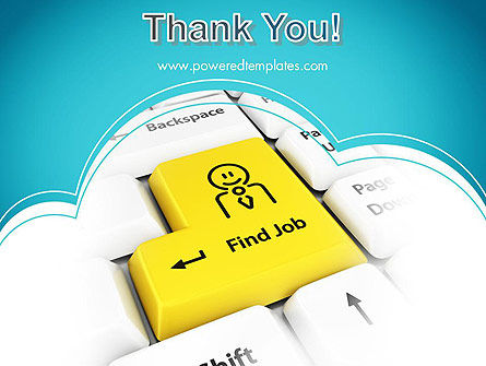 Find Job Button PowerPoint Template Slide 20