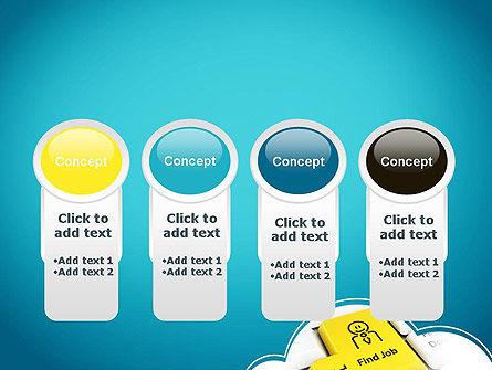 Find Job Button PowerPoint Template Slide 5