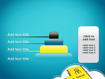Find Job Button PowerPoint Template Slide 8