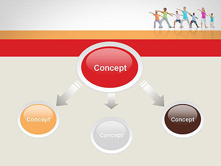 Morning Yoga PowerPoint Template, Slide 4, 12051, People — PoweredTemplate.com