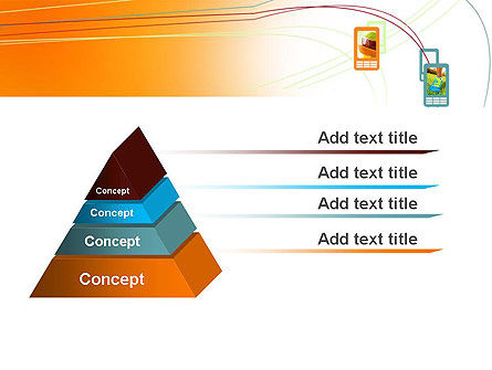 Smartphone Theme PowerPoint Template, Slide 4, 12055, Technology and Science — PoweredTemplate.com