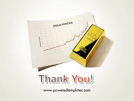 Gold Price PowerPoint Template Slide 20