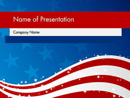 Fourth Of July PowerPoint Template, 12057, Holiday/Special Occasion — PoweredTemplate.com