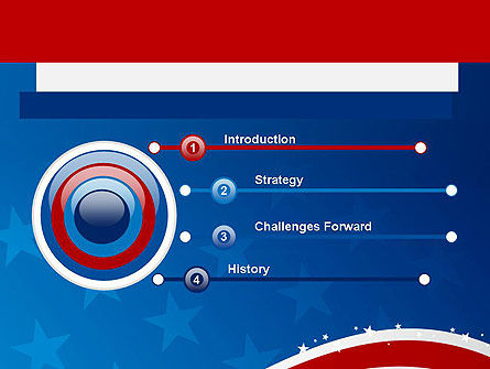 Fourth Of July PowerPoint Template, Slide 3, 12057, Holiday/Special Occasion — PoweredTemplate.com