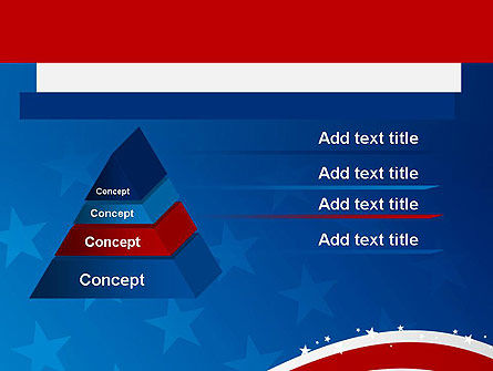 Fourth Of July PowerPoint Template, Slide 4, 12057, Holiday/Special Occasion — PoweredTemplate.com