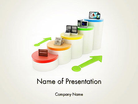 Technology and Science: Disruptive Innovations PowerPoint Template #12059