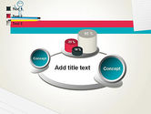 Coffee Break with Stickman PowerPoint Template#16