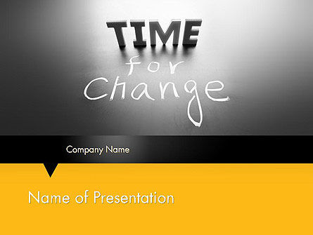 Time for a Change PowerPoint Template