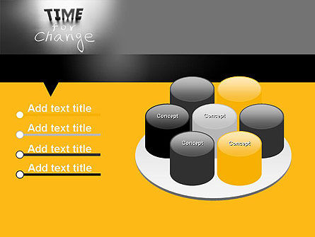 Time for a Change PowerPoint Template Slide 12