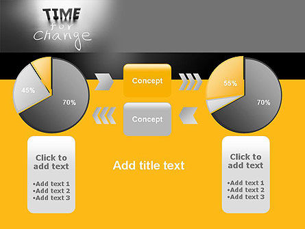 Time for a Change PowerPoint Template Slide 16