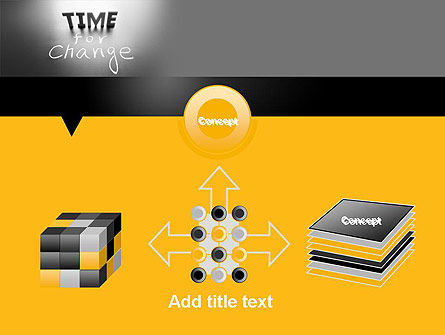 Time for a Change PowerPoint Template Slide 19