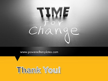 Time for a Change PowerPoint Template Slide 20