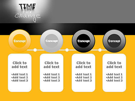 Time for a Change PowerPoint Template Slide 5
