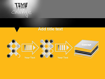 Time for a Change PowerPoint Template Slide 9