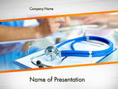 Medical: Modello PowerPoint - Assistenza sanitaria #12065