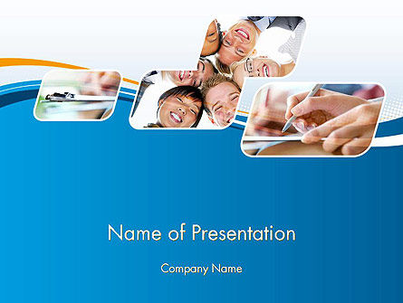 Students and Education PowerPoint Template, 12066, Education & Training — PoweredTemplate.com