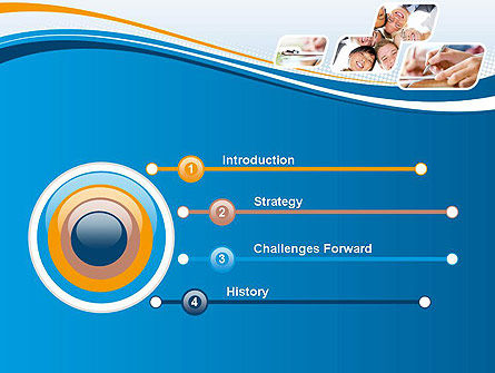 Students and Education PowerPoint Template, Slide 3, 12066, Education & Training — PoweredTemplate.com