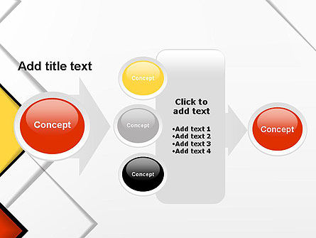 Colored Squares PowerPoint Template Slide 17