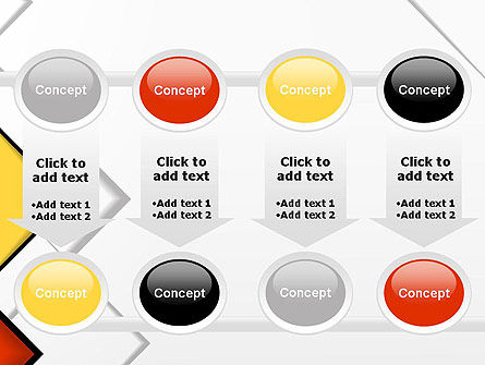Colored Squares PowerPoint Template Slide 18