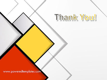 Colored Squares PowerPoint Template Slide 20