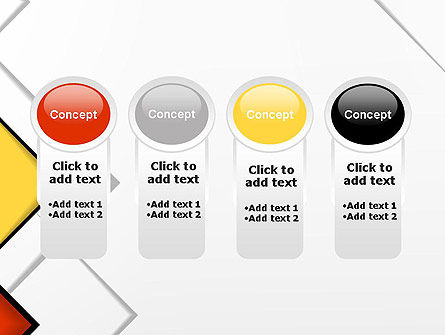 Colored Squares PowerPoint Template Slide 5