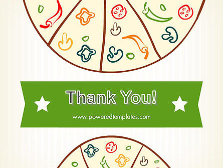 Pizza Illustration PowerPoint Template Slide 20