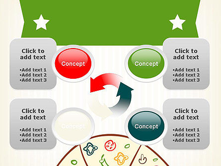 Pizza Illustration PowerPoint Template Slide 9