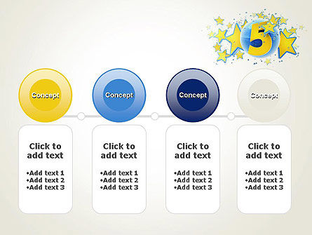 Five Years Celebration PowerPoint Template Slide 5