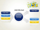 Five Years Celebration PowerPoint Template#15