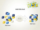 Five Years Celebration PowerPoint Template#17